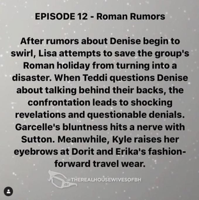 RHOBH episode 12