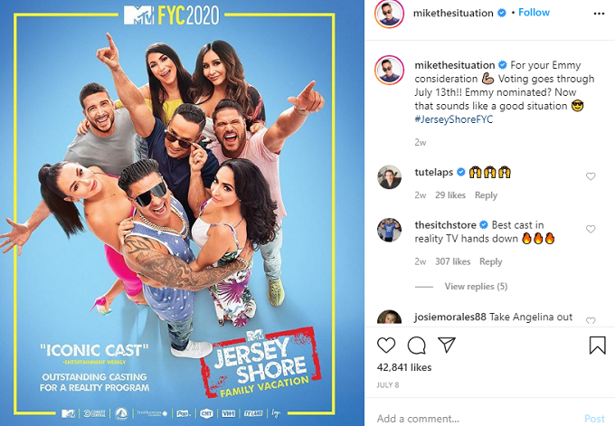Promotional photo for Jersey Shore: Family Vacation