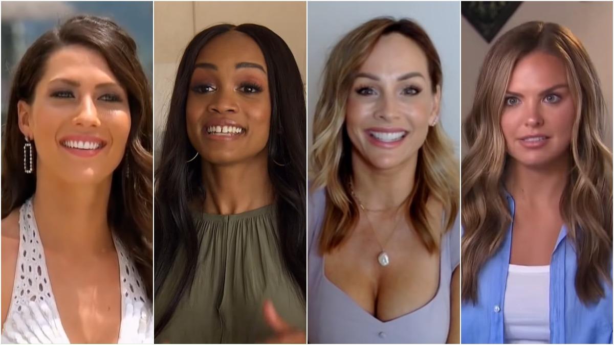 Bachelorette stars Becca Kufrin, Rachel Lindsay, Clare Crawley and Hannah Brown