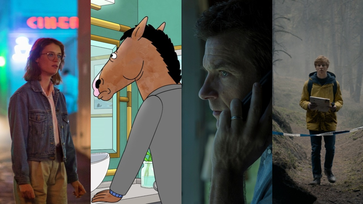 Black Mirror, Bojack Horseman, Ozark, and Dark.