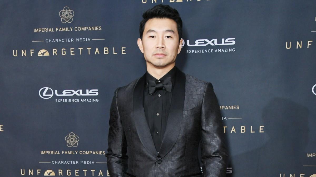 Simu Liu on the red carpet