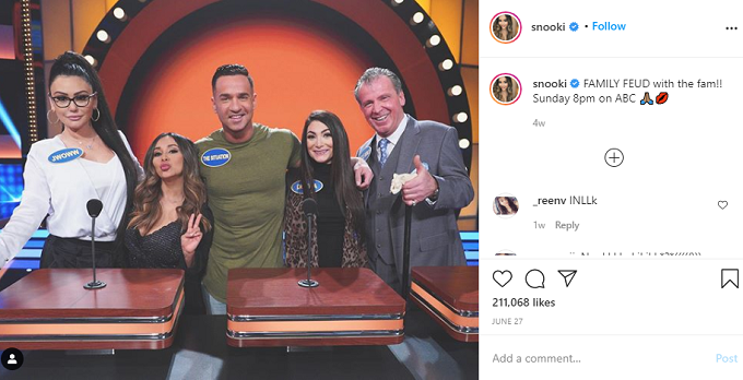 Jersey Shore cast on Family Feud