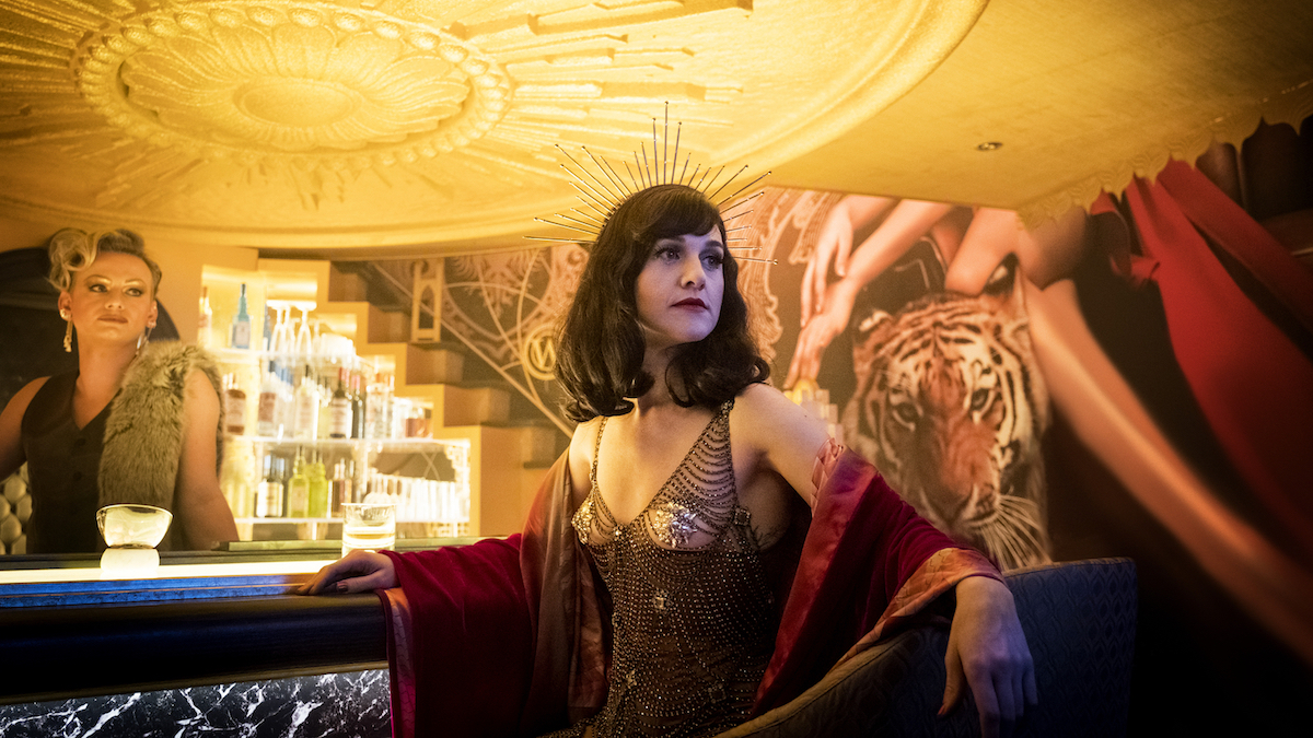 Lena Hall as Miss Audrey in Snowpiercer