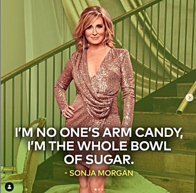 Sonja Morgan has a new tagline