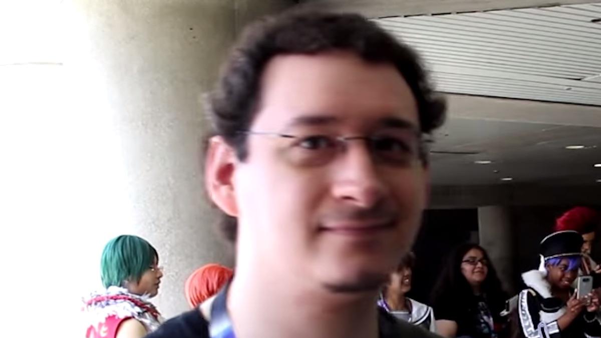 game developer yandere dev at convention