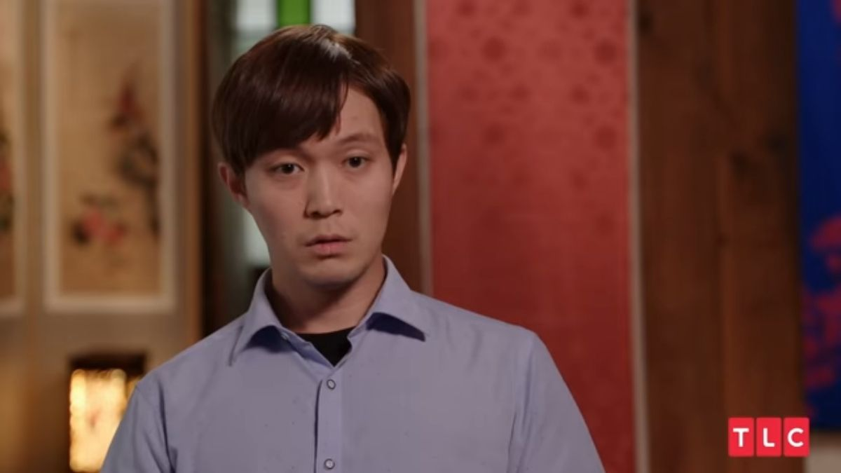 Jihoon Lee during an episode of 90 Day Fiance: The Other Way