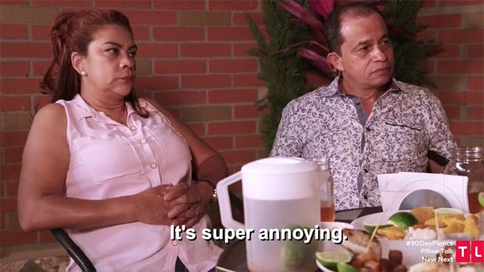 90 day fiance other way Melyza's mom saying she's annoyed
