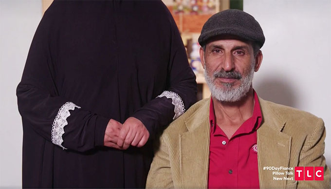 90 day fiance other way season 2 Yazan's dad smiling and mom in disguise