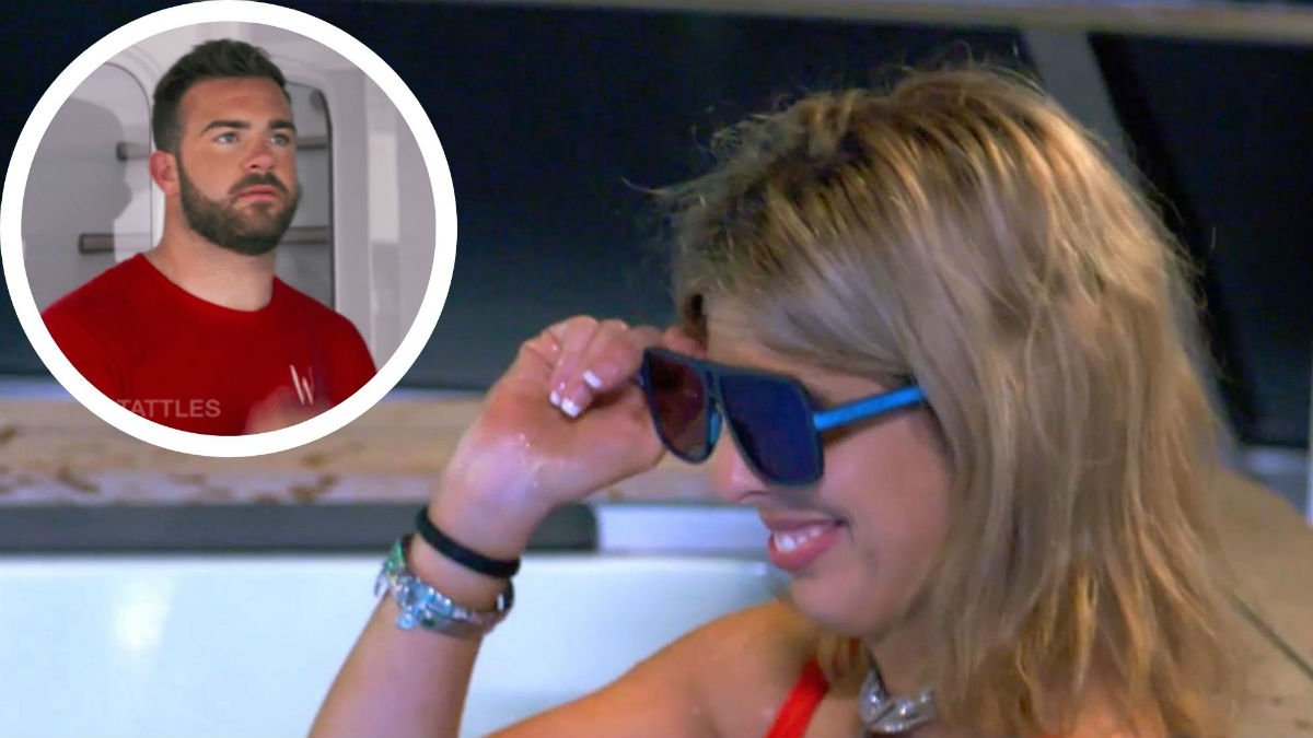 Bugsy opens up about fflirting with Alex on Below Deck Med.
