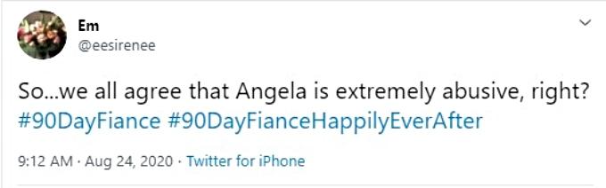 Twitter calls Angela Deem abusive
