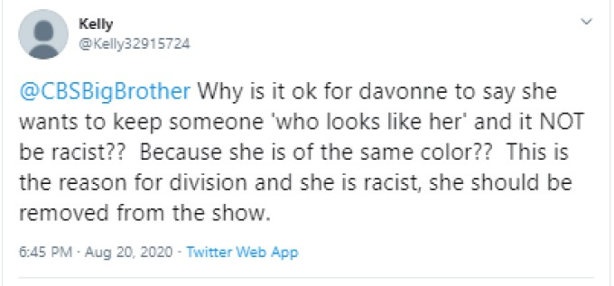 Another BB Fan Against DaVonne