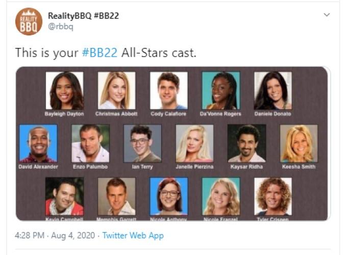 BB All-Stars 2 Cast