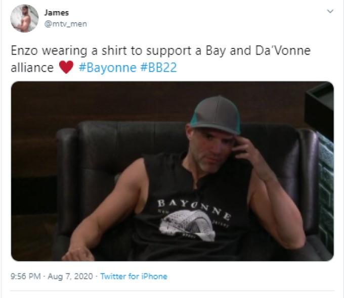 Enzo In Bayonne Shirt