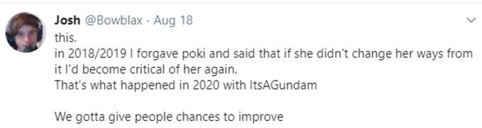 Bowblax criticising Pokemane