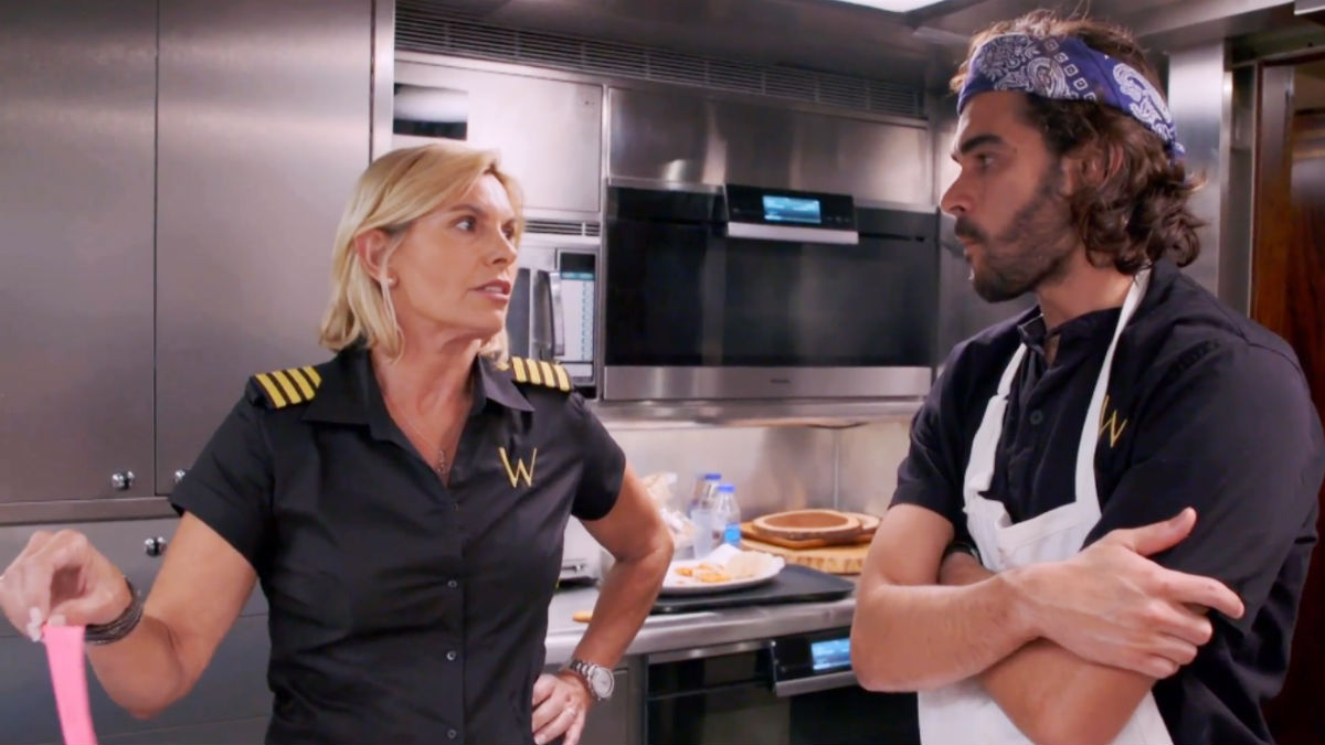 Captain Sandy Yawn wants better chefs on Below Deck Mediterranean.