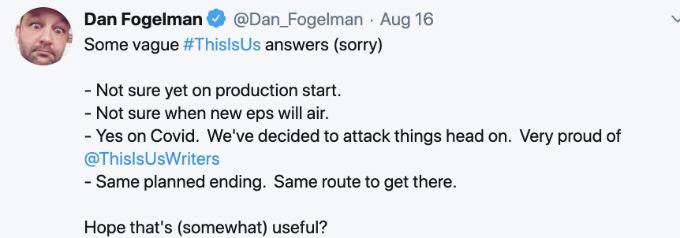 Dan Fogelman dishes This IS US season 5