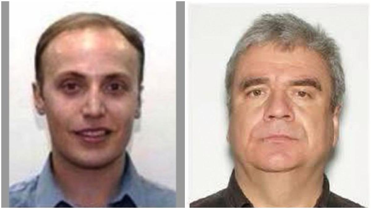 Mugshots of Demitry Papasotiriou-Lanteigne and Michael Ivezic