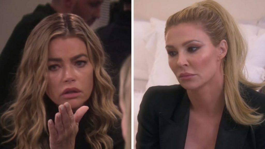 Denise Richards and Brandi Glanville