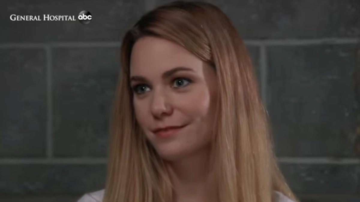 General Hospital's Chloe Lanier as Nelle.