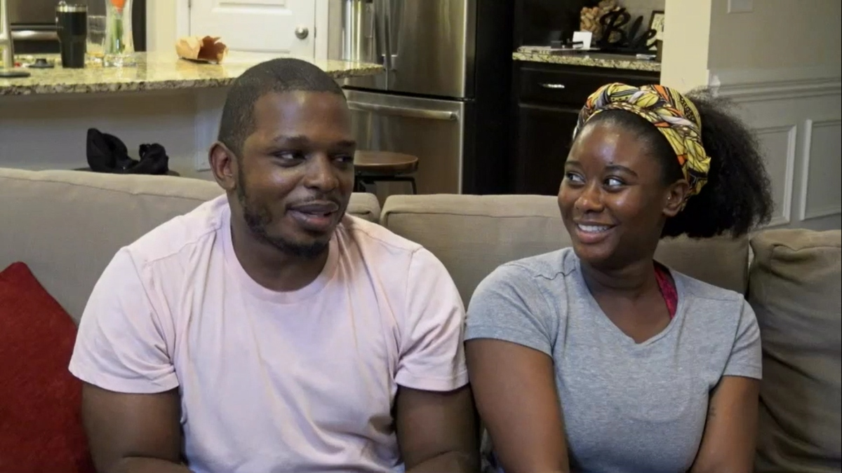 Greg and Deonna on Married at First Sight Couples Cam