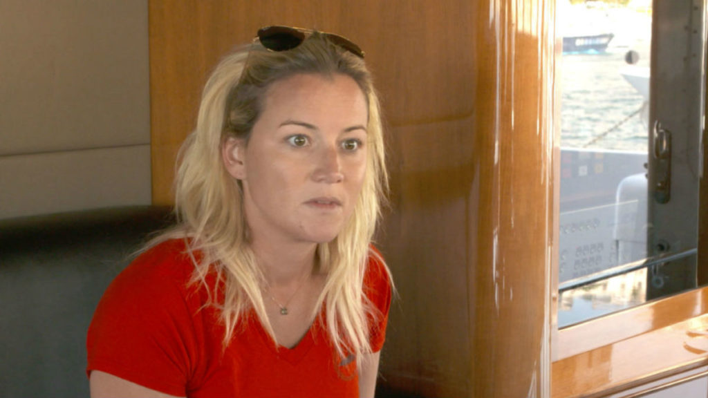 Hannah Ferrier is addressing her panic attack on Below Deck Med.
