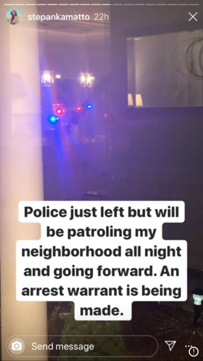 Stephanie calls police