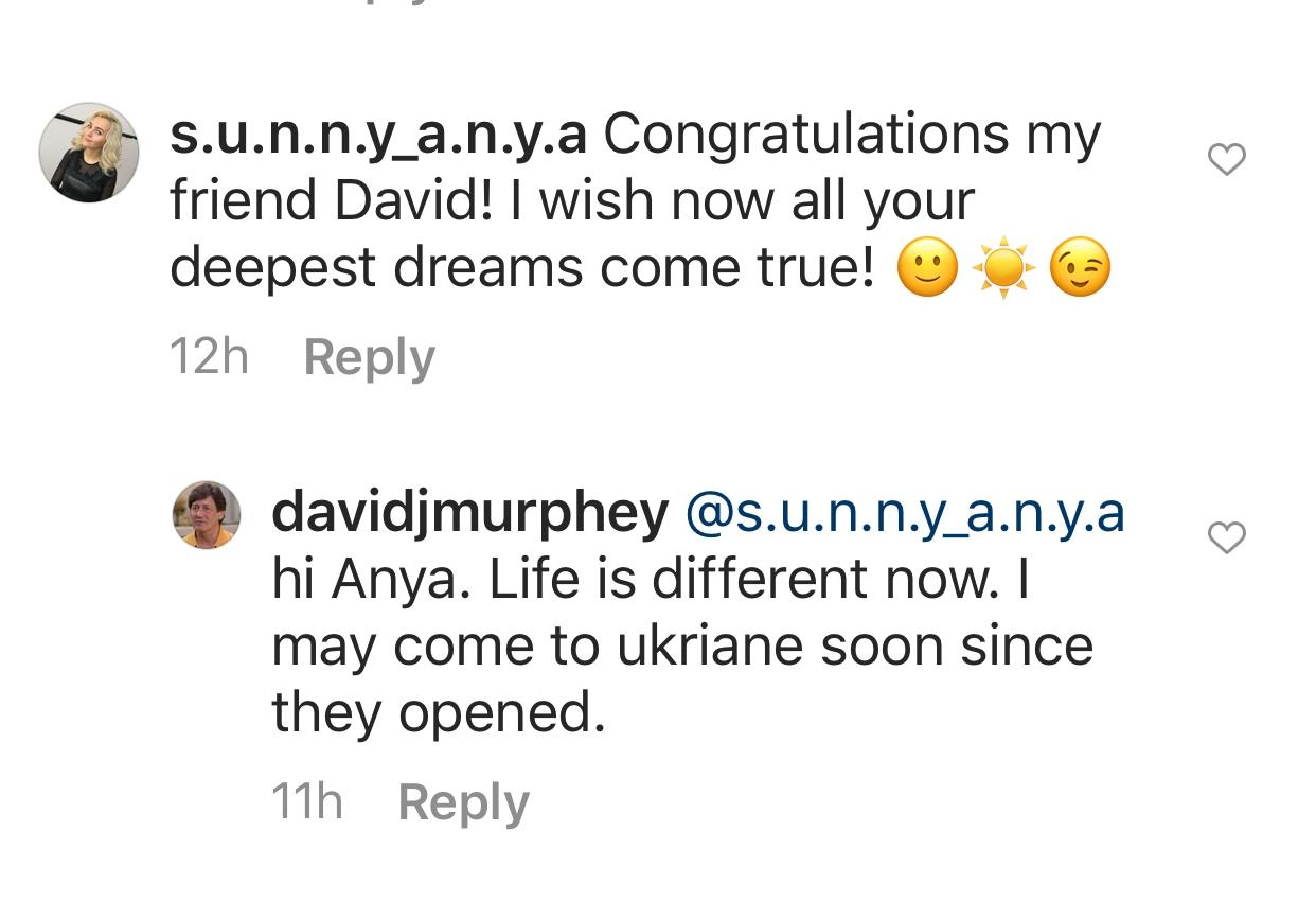 David May go to Ukraine