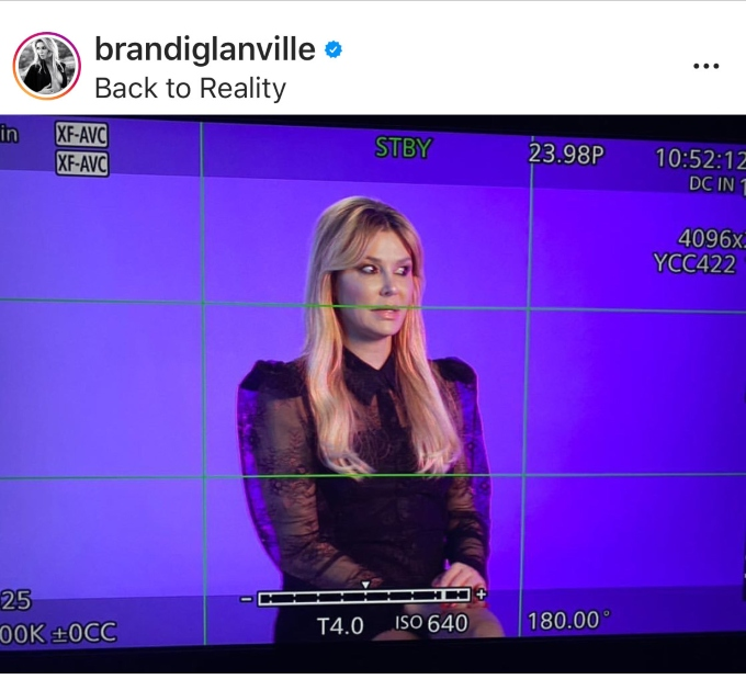 Brandi has filmed her sit down interview for RHOBH