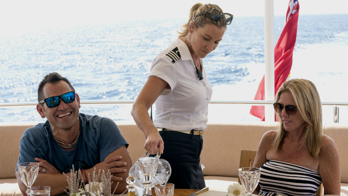 Johnny Damon opens up about his Below Deck Mediterranean experience.