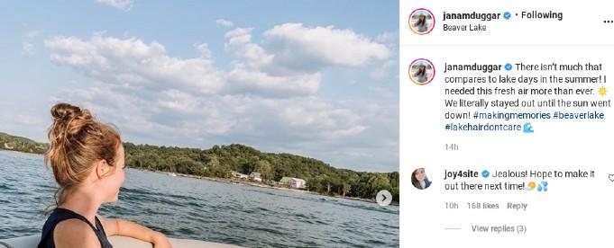 Joy-Anna comments on Jana's post.