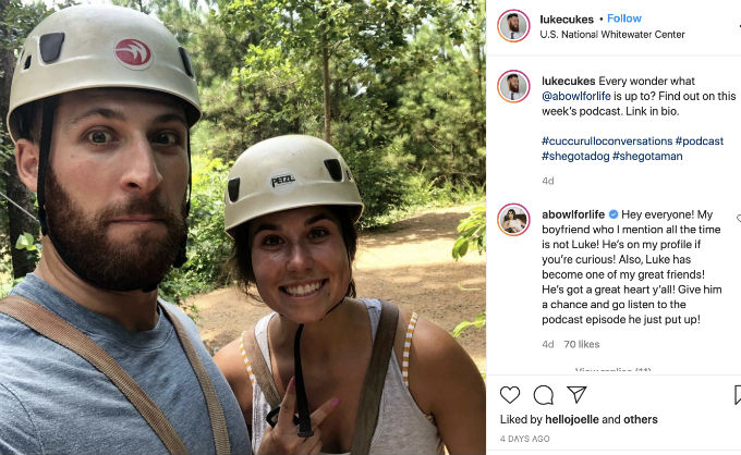 Amber and Luke from Married at First Sight are friends.