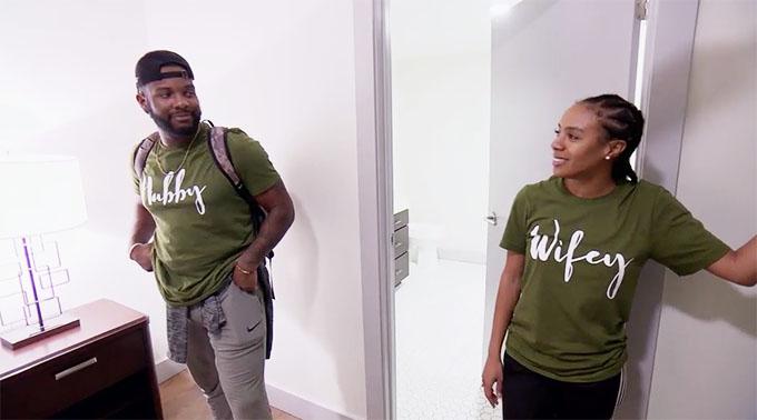 MAFS Season 11 couple Karen and Miles looking at new apartment