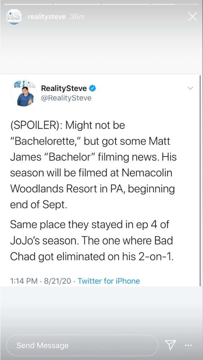 Matt's season