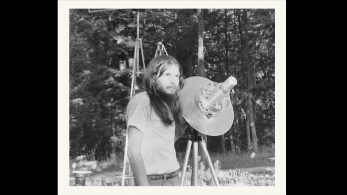 Old photo of John Shepherd from John Was Trying To Contact Aliens.