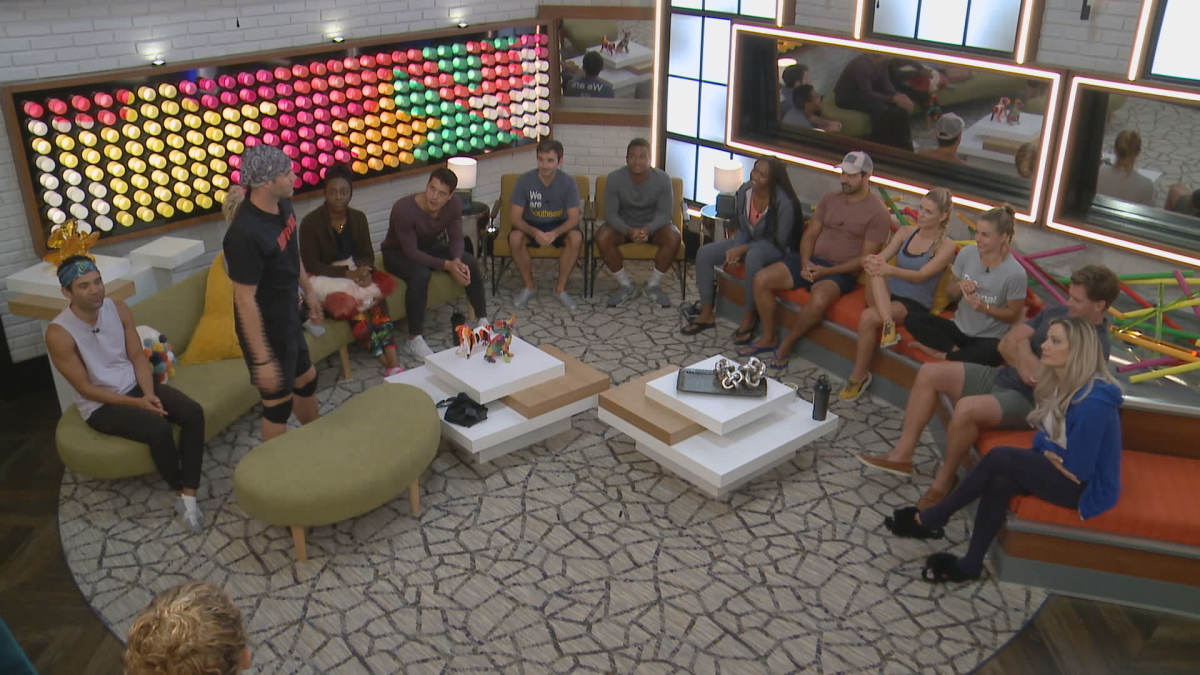 BB22 Cast In Live Room