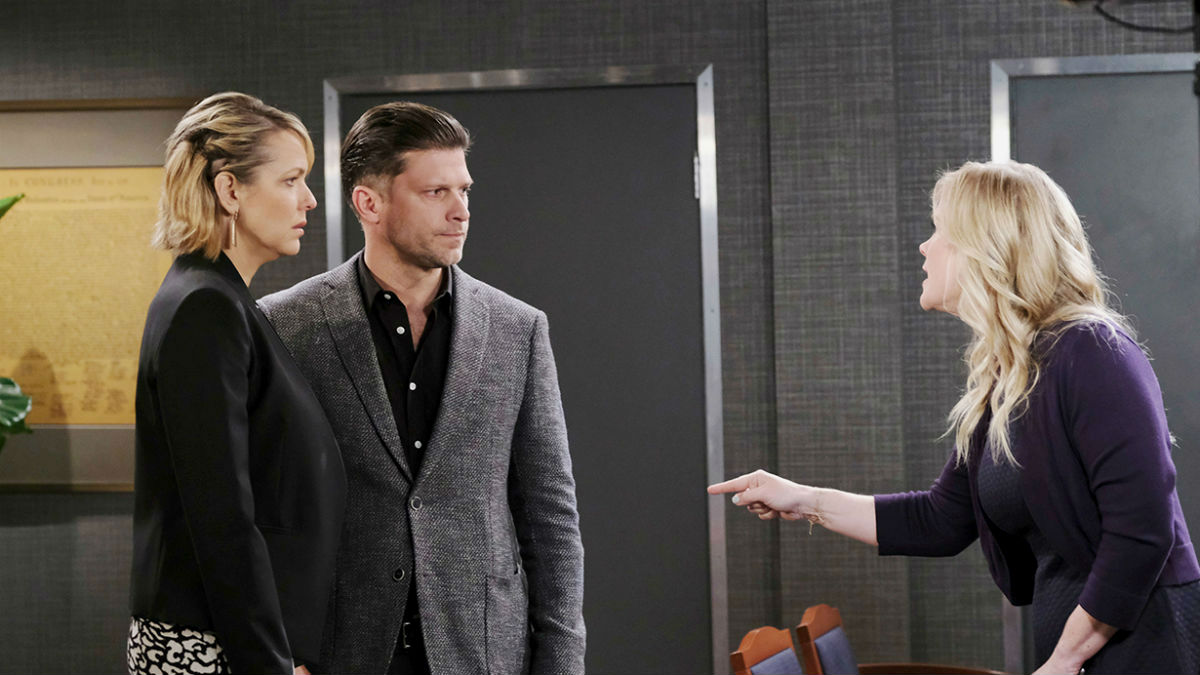 Sami has a plan to keep Nicole from her grandson on Days of our Lives.