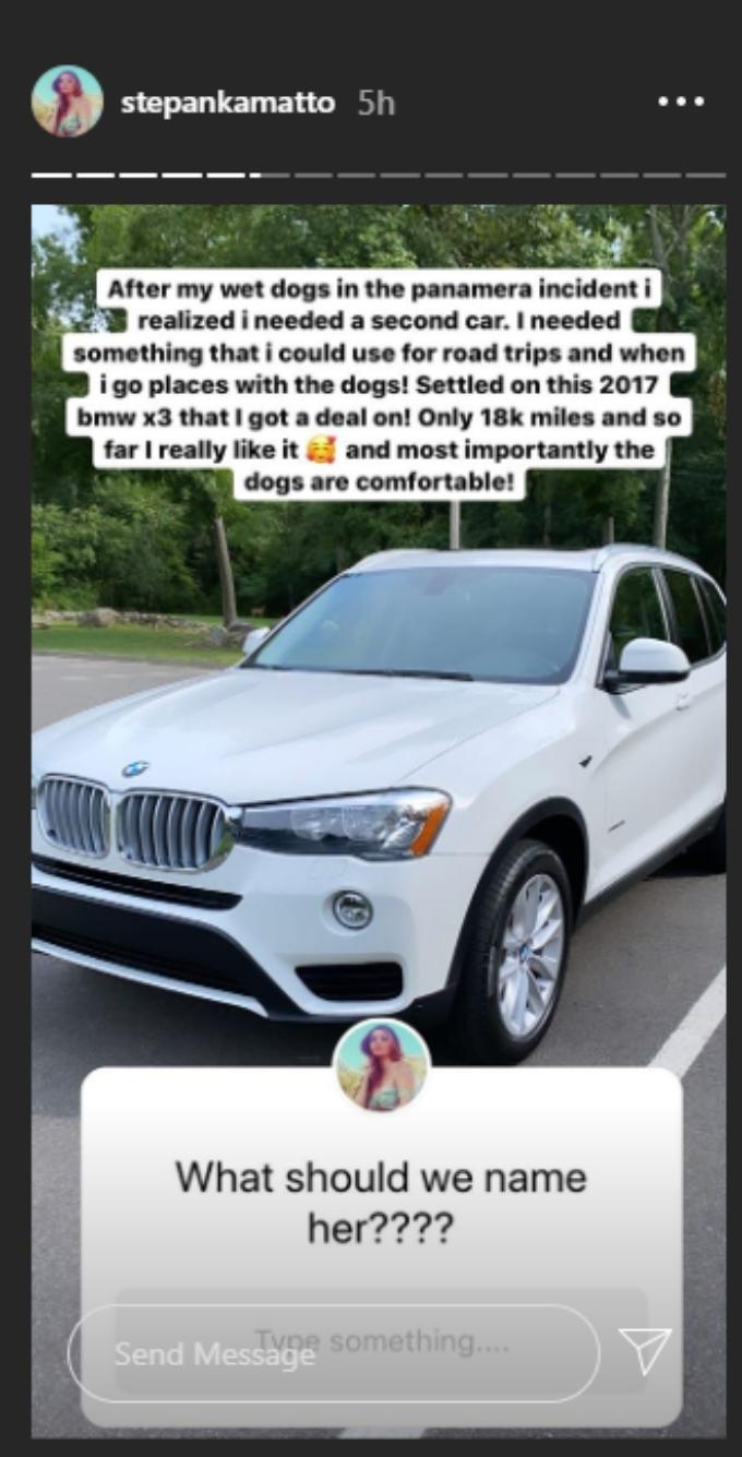 Stephanie buys another fancy car