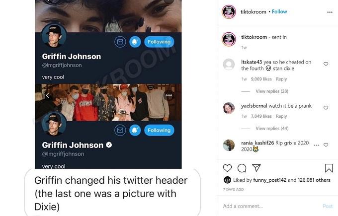 Griffin Johnson changed his Twitter header