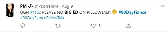 Twitter comment about Big Ed