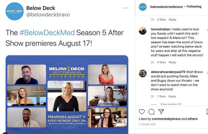 Below Deck Med Season 5 After Show will premiere on Bravo.com next week.
