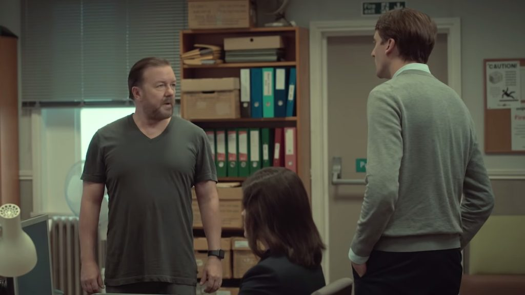 ricky gervais as tony in after life on netflix