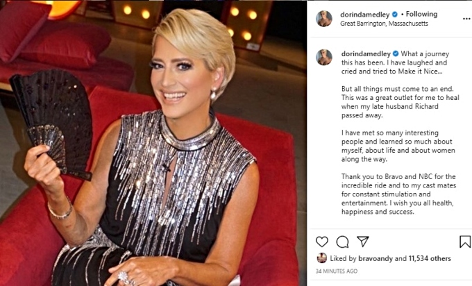 Dorinda Medley announces her exit from RHONY