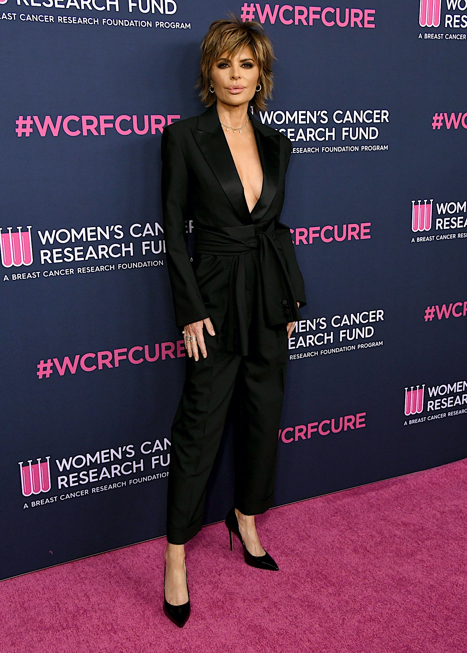 Lisa Rinna attending the The Women's Cancer Research Fund's An Unforgettable Evening Benefit Gala 2020