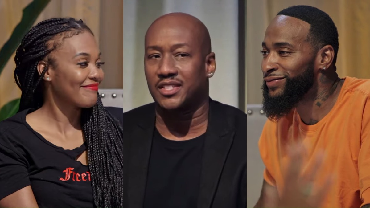 Willie and Shanda get some great advice from Dr. Ish on Marriage Boot Camp: Hip Hop Edition