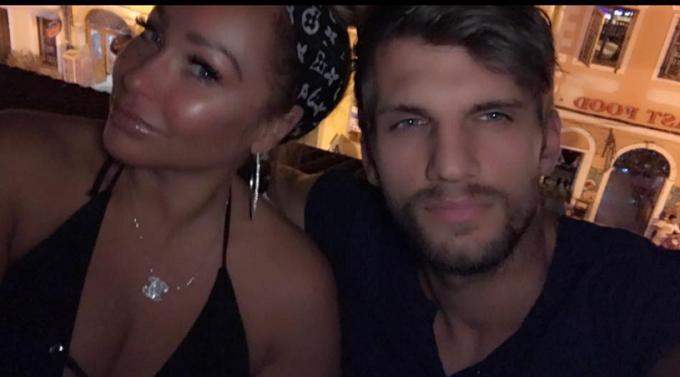 Stacey Silva selfie Florian Sukaj
