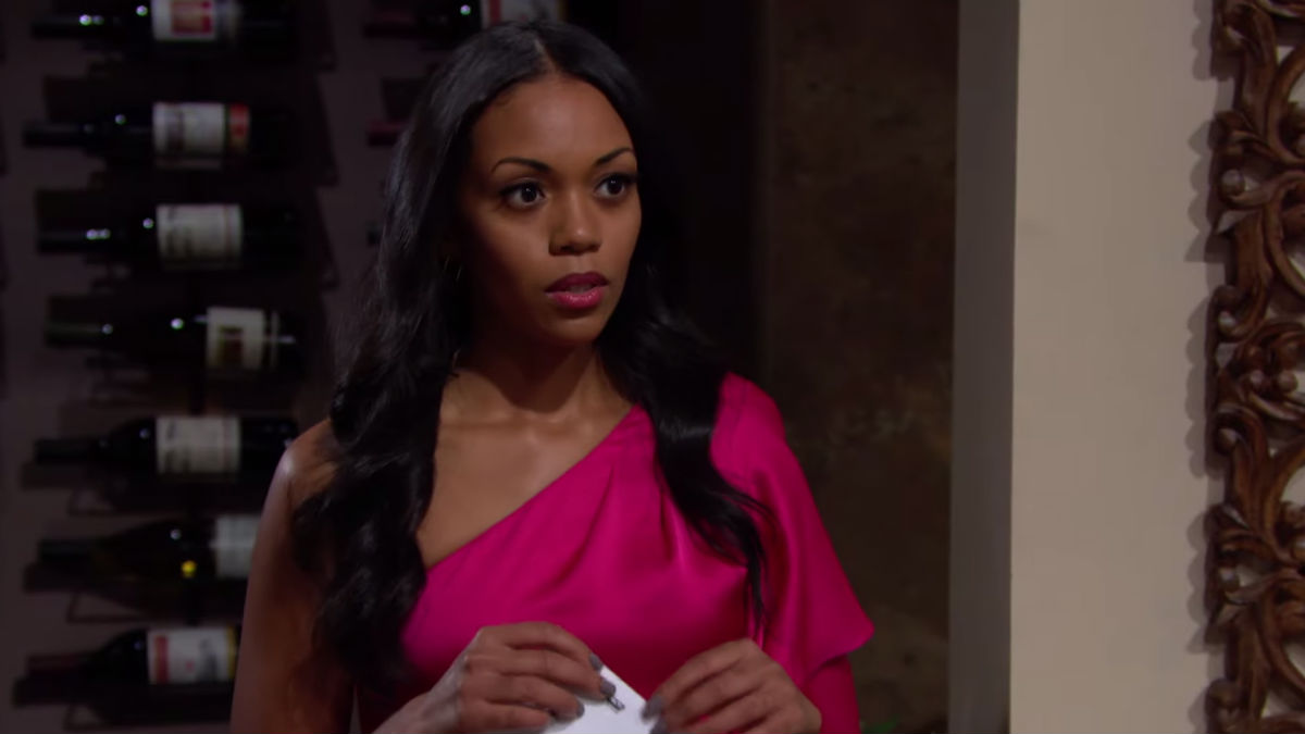 The Young and the Restless spoilers tease Amanda's DNA results are in.