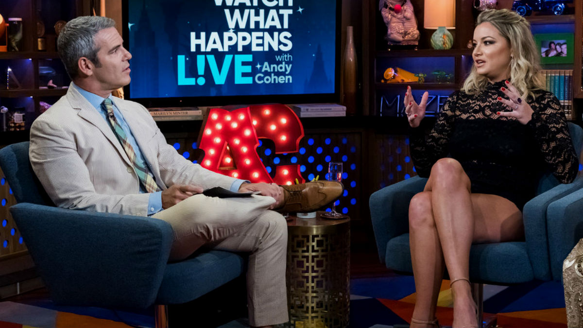 Andy Cohen reveals if Hannah Ferrier is at Below Deck Mediterranean Season 5 reunion show.