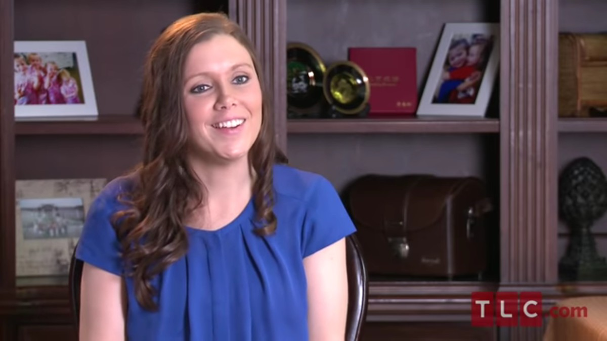 Anna Duggar in a 19 Kids and Counting confessional.