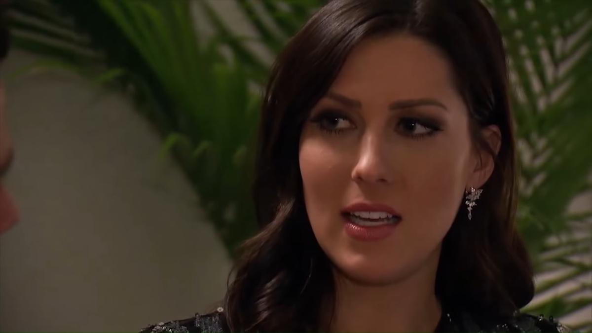 Becca Kufrin on The Bachelorette