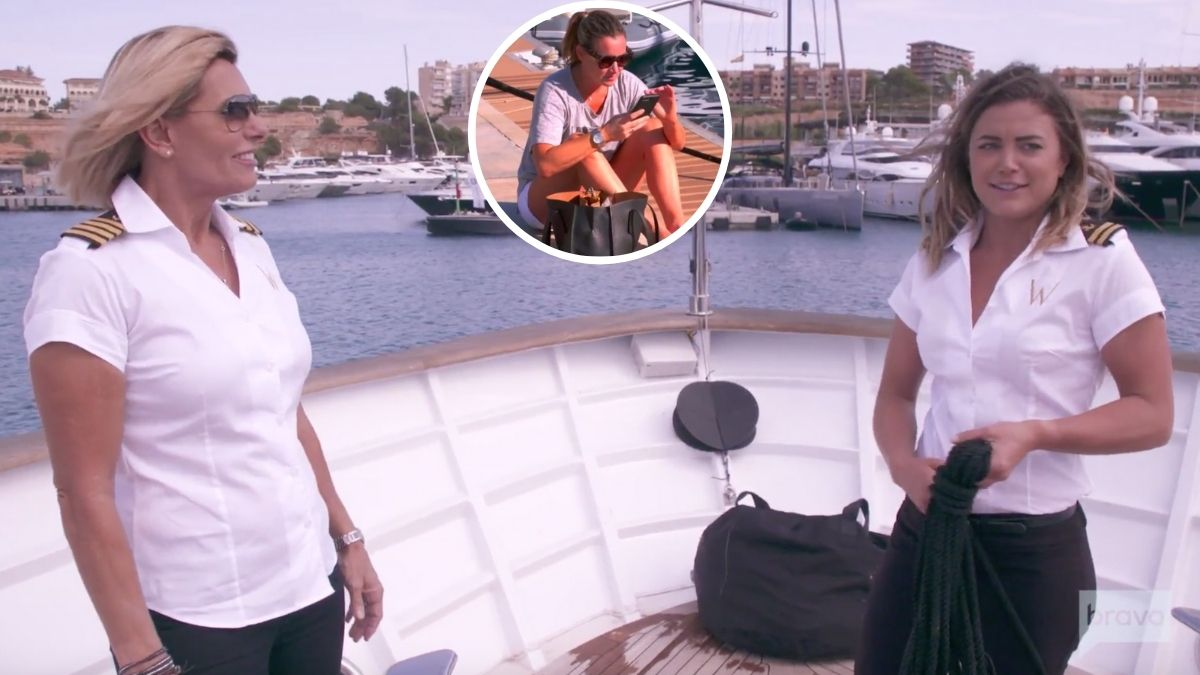 Below Deck Med's Captain Sandy and Malia continue to blame Hannah for the way firing went down.